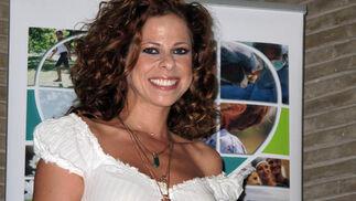 La cantante Pastora Soler, nombrada coordinadora de trasplantes honoraria de Sevilla.  Foto: Victoria Ramírez