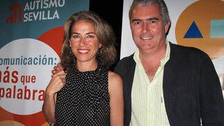 Sandra Barón, componente de 'Siempre Así', con Alfonso Terry.  Foto: Victoria Ramírez
