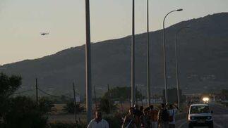Un total de 2.000 personas realizaron el recorrido y cinco sufrieron contusiones en dos accidentes provocados por los equinos  Foto: S. T.