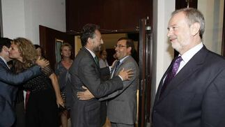 José Joly, Ángel Fernández Noriega y Felipe Faraguna.  Foto: Julio Gonzalez