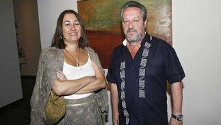 Los profesores Marieta Cantos y Alberto Ramos.  Foto: Joaquin Pino