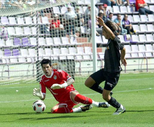 El Recreativo de Huelva cae goleado en casa del Valladolid. / LOF