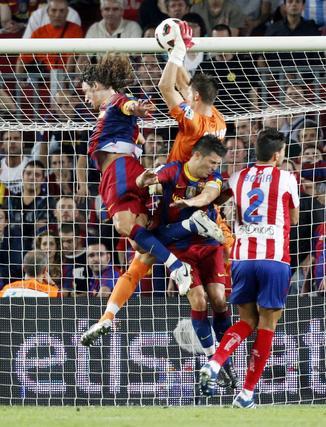 El Barcelona gana por la mínima su primer partido sin Leo Messi. / Reuters