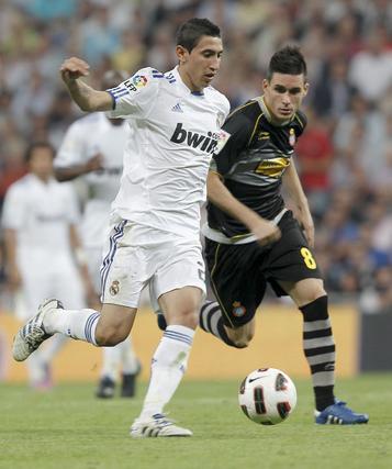 El Real Madrid gana al Espanyol en el Bernabéu. / EFE