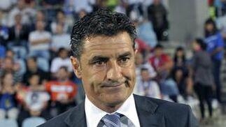 El Málaga gana su segundo partido de la temporada en Liga en casa del Getafe. / EFE