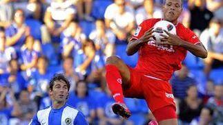 El Sevilla prolonga su mala racha al caer en Alicante ante el Hércules. / AFPEl Sevilla prolonga su mala racha al caer en Alicante ante el Hércules. /
