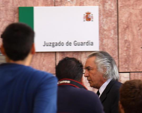 Pedro Román, el que fue primer teniente de alcalde de Marbella, también está imputado en el caso Malaya.