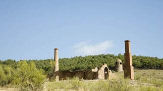 Ayuntamiento de Jerez del Marquesado. Antigua explotación minera de cobre Santa Constanza.