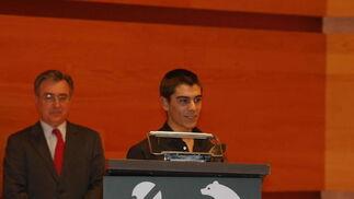 Alberto Moncayo (Deportes). Campeón de España de Motocilismo en la categoría de 125 en 2009 y en la pasada temporada ha sido destacado como el mejor novato del Mundial. Tiene 19 años.   Foto: Julio Gonzalez