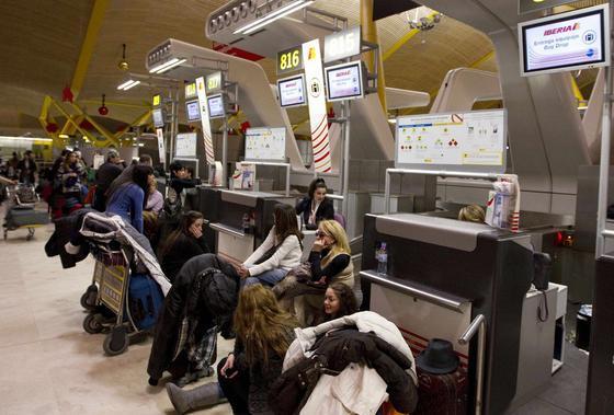 Aeropuerto de Barajas.  Foto: Reuters