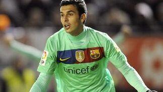 El Barcelona gana con facilidad a Osasuna en Pamplona. / AFP