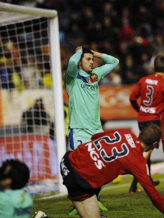 El Barcelona gana con facilidad a Osasuna en Pamplona. / Reuters