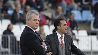 El Almería no puede con el colista de Liga en el estadio Mediterráneo (1-1). / Fran Leonardo