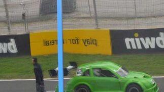 Legend Cars y Mit Jets, al alimón en la Fórmula Mix.  Foto: Manuel Aranda