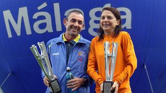 En categoría femenina, el triunfo fue para la jiennense Blanca María Serrano (2:59.00) después de que se descalificara a la primera mujer en entrar en meta, la sueca Sandr Halvarsson, por irregularidades en sus tiempos de paso.  Foto: Migue Fernández