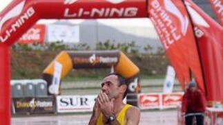 LLegada del ganador a la meta.  Foto: Migue Fernández