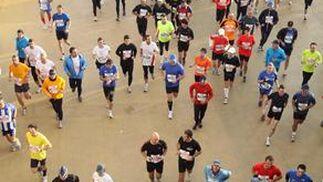 Primer Maratón Málaga disputado en la mañana de hoy.  Foto: Migue Fernández