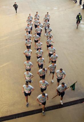 Un grupo de partipantes de la prueba.  Foto: Migue Fernández
