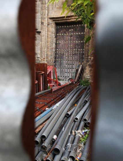 La declaración del Flamenco como Patrimonio Inmaterial de la Humanidad choca con el ya casi inexistente —por ruinoso— patrimonio material de los barrios gitanos.  Foto: Vanesa Lobo