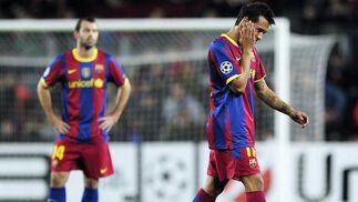 Jeffren se retira lesionado en la primera mitad. / AFP