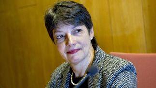 La fiscal superior de Suecia, Marianne Ny, comparece para valorar la detención de Assange. / EFE