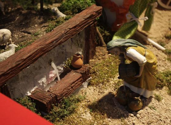 Imagen del Belén de El Salvador.  Foto: José Ángel García