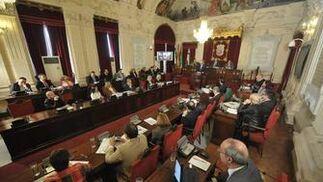 Imagen del último debate sobre el Estado de la Ciudad de 2010.