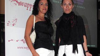Sara Vizcaíno y Belén Torrado, de Auka Moda Española y 220 Voltios Calzado, usuarias de 'Wappíssima'.  Foto: Victoria Ramírez