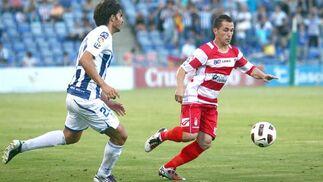 Collantes se lleva una pelota cotrolada. / Josué Correa
