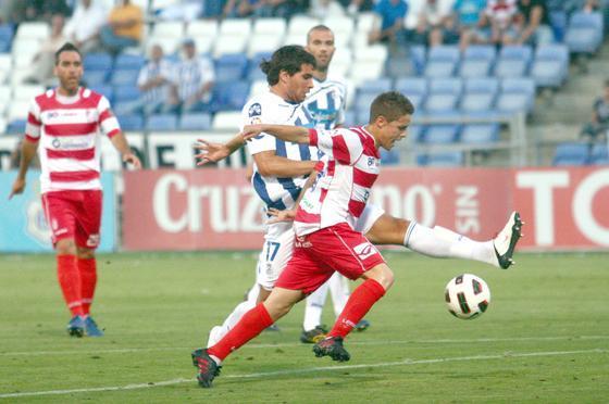 El Recreativo de Huelva y el Granada empatan en el último partido de la temporada regular de Segunda. / Josué Correa