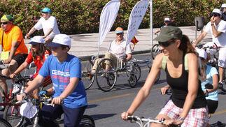 Día de la Bici en Málaga  Foto: Javier Albi?