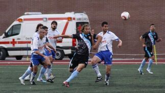 El San Fernando tendrá que buscar la remontada en el Juegos Iberoamericanos 2010 de Bahía Sur tras caer por 3-2 ante el Loja.  Foto: LOF