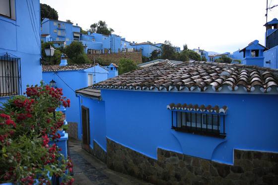 Júzcar, el 'pueblo pitufo'  Foto: Javier Flores