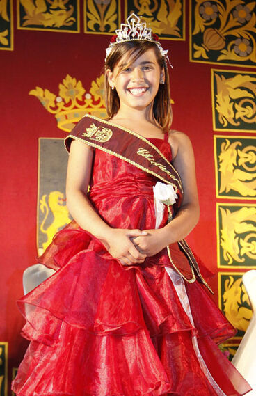 La Chiclanera INfantil, Mónica Castillo Guerrero, del colegio Safa  Foto: Paco P./Sonia Ramos