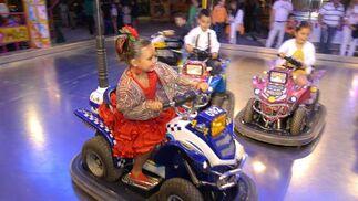 Niños y niñas disfrutaron de las atracciones  Foto: Paco P./Sonia Ramos