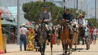 Paseo de caballos  Foto: Paco P./Sonia Ramos