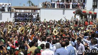 Hermandad del Rocío de Triana  Foto: Juan Carlos Vázquez