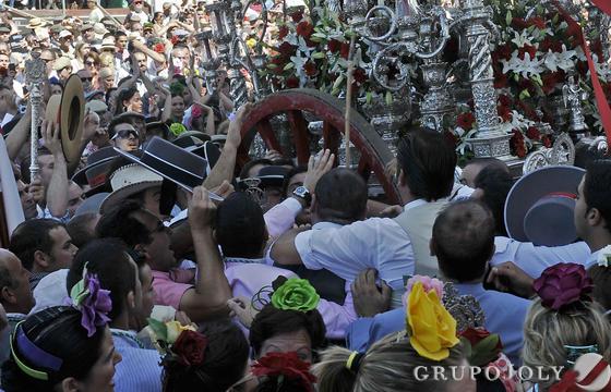 Hermandad de Villamanrique de la Condesa  Foto: Juan Carlos Vázquez