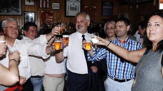 El Consistorio ubriqueño estará finalmente en las manos del Partido Popular y de su nuevo alcalde Manuel Toro  Foto: Ramon Aguilar