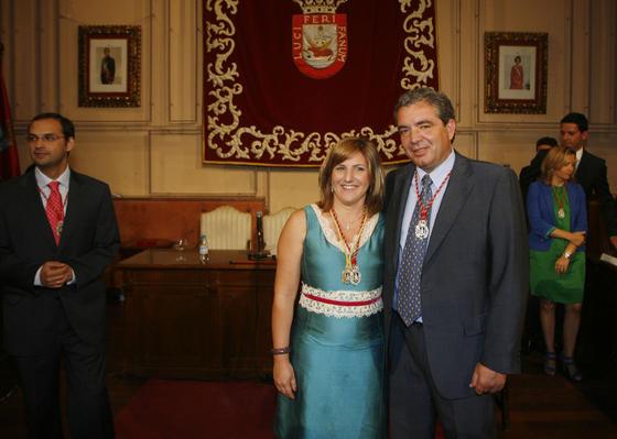 Irene García (PSOE)reedita su mandato al frente del Ayuntamiento de Sanlúcar gracias a la renovación del pacto que firmó con Ciudadanos Independientes de Sanlúcar (CIS)  Foto: Borja Benjumeda