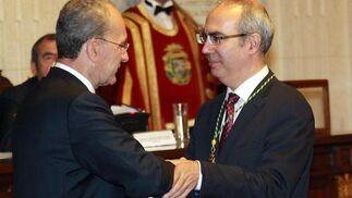 Imagen del Pleno, donde Franscico de la Torre ha sido reelegido alcalde de Málaga.  Foto: Migue Fern?ez