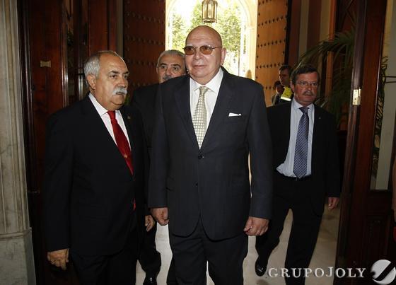 Adolfo Arenas, presidente del Consejo de Hermandades.  Foto: Antonio Pizarro - Manuel Gómez