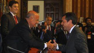 Espadas, en su toma de posesión como concejal  Foto: Antonio Pizarro - Manuel Gómez