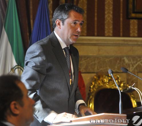 Espadas, durante su intervención.  Foto: Antonio Pizarro - Manuel Gómez