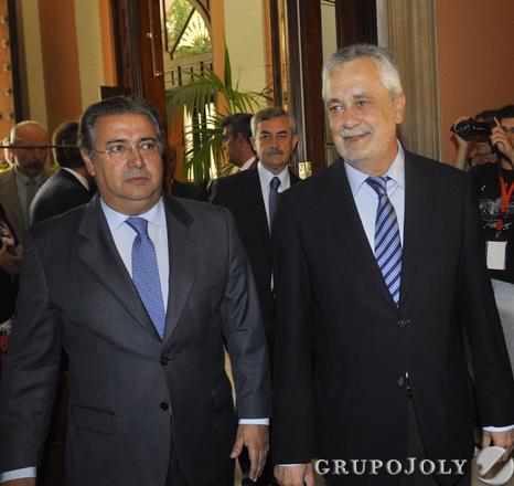 Zoido y Griñán  Foto: Antonio Pizarro - Manuel Gómez