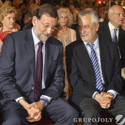 Rajoy y Griñán.  Foto: Antonio Pizarro - Manuel Gómez