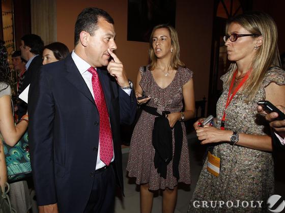 José Luis Sanz, presidente del PP de Sevilla y alcalde de Tomares.  Foto: Antonio Pizarro - Manuel Gómez