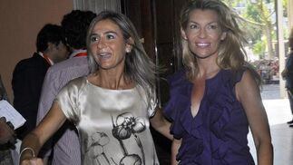 Patricia Rato, a la derecha.  Foto: Antonio Pizarro - Manuel Gómez