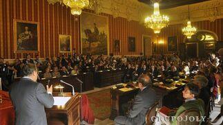 Zoido, durante su intervención.  Foto: Antonio Pizarro - Manuel Gómez