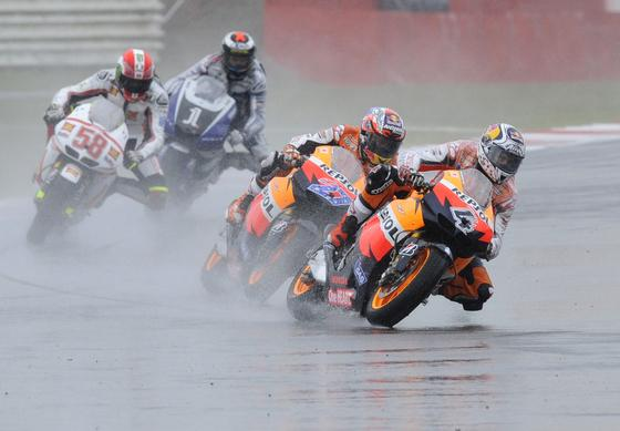 La carrera de MotoGP del Gran Premio de Gran Bretaña.  Foto: Reuters